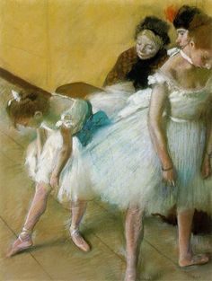 I love Degas. His art just makes me smile.
