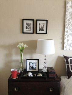 Bedroom Ideas attempt these captivating makeover 5556812501 - Positively marvelous and breathtaking room styling tips and help. Bedroom Retreat, Master Bedroom, Bedroom Decor, Bedroom Ideas, Dresser As Nightstand, Floating Nightstand, Sheffield Home, Neutral Bedrooms, Neutral Color Scheme