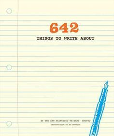 642 Things to Write Journal On my wishlist