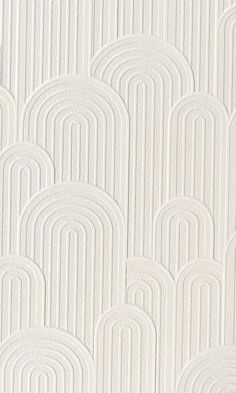 White Retro Geometric Hills Wallpaper R6063 - Free Sample