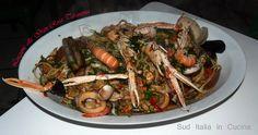 Linguine, Japchae, Paella, Shrimp, Spaghetti, Meat, Ethnic Recipes, Food, Hama