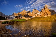 Evening light in the Dolomites by MORKES. Please Like http://fb.me/go4photos and Follow @go4fotos Thank You. :-)