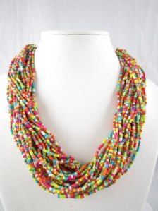 Beadwork in Necklaces - Etsy Jewelry