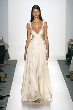 to low for me, but the dress is beautiful!