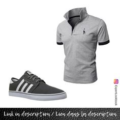 Gray Adidas, Adidas Sneakers, Mens Fashion, Grey, Stuff To Buy, Shirts, Instagram, Moda Masculina, Gray