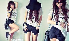 Korean Fashion #kpop #fashion #ulzzang