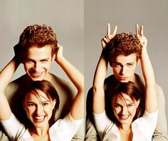 Hayden Christensen and Natalie Portman (Anakin Skywalker and Padme Amidala in Star Wars)