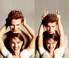 Hayden Christensen and Natalie Portman (Anakin Skywalker and Padme Amidala in Star Wars)