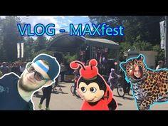 VLOG - MAXfest ||  Неотмывающаяся краска ||  Я леопард