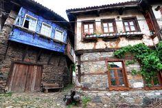Old ottoman houses in Bursa