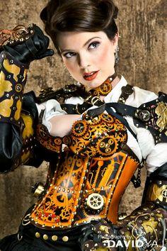 @PinFantasy - Steampunk Beauties, Sarah Hunter #SteamPUNK ☮k☮
