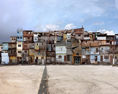 Dionisio Gonzalez. Favela Photo Series.  I'm enthralled by Spanish artistDionisio Gonzalez'sfavela photo series. His images are created by digitally manipulating real photographs. He has featured a number of locations in this series, including Korea's second biggest city Busan.(by Lauren Kilberg)  http://www.dionisiogonzalez.es/