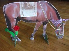 Überall & Nirgendwo: Pferde-Geburtstag Einladungen oder Geldgeschenk