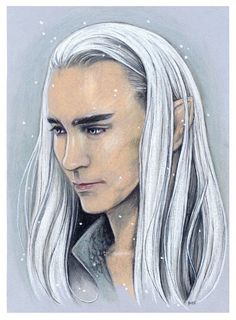 AU Thranduil by linyuno// REPINNING THIS BEAUTIFUL PIECE!