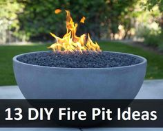 13 DIY Fire Pit Ideas