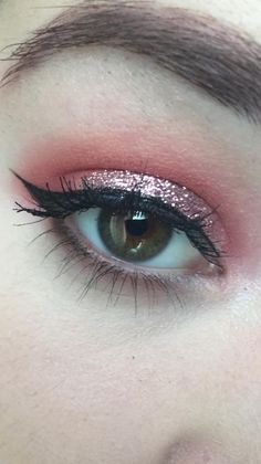 I love this look from @Sephora's #TheBeautyBoard: http://gallery.sephora.com/photo/makeup-forever-pink-glitter-25663