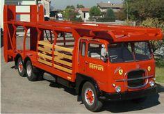 Fiat 643N Scuderia Ferrari transporter restored