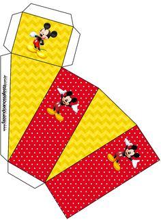 Caixa Fatia Mickey: