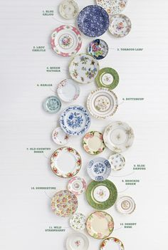 From feminine chintz to fanciful English roses, here's the dish on some of the most popular patterns to ever grace American tables. Follow rickysturn/fine-china