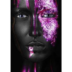Gold Wall Art, Gold Art, Awareness Tattoo, Lashes Logo, Body Glitter, Black Women Art, Face Art, Body Painting, Canvas Art Prints