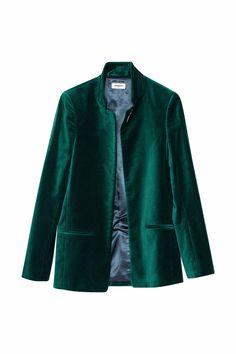 acheter veste velours femme