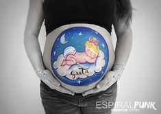 Belly Painting Belly Painting, Snow Globes, Artist, Home Decor, Homemade Home Decor, Artists, Interior Design, Home Interiors, Decoration Home