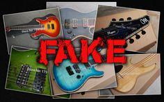 Falsificaciones de guitarras Mayones