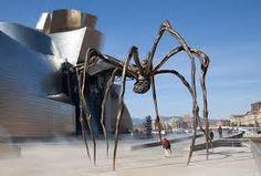 Louise Bourgeois sculpture In Bilbao