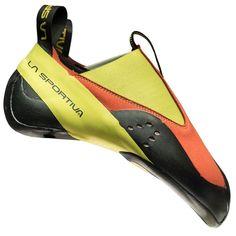 La Sportiva Maverink Climbing Shoe - Laura Parra P - KinderMode Climbing Outfits, Climbing Shoes, Rock Climbing, Mountain Climbing, Climbing Clothes, Kid Shoes, Me Too Shoes, Unisex, Types Of Shoes