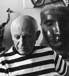 Picasso in his stripes