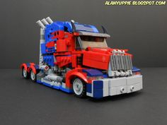 """""""LEGO Optimus Prime The Last Knight"""" by alanyuppie: Pimped from Flickr"""