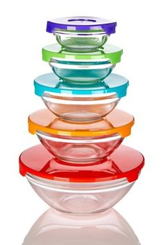 10-Piece Glass Bowl
