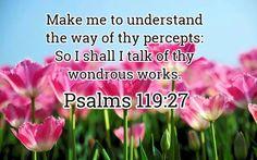 Psalm 119:27 KJV