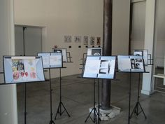 Exhibition in Milano, Italy during Festival of Silence