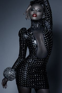 Haute couture, high fashion, fashion editorials, runway details, all fabulous looks in black! For more visit Inspiration by Color