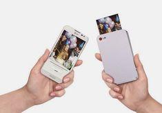 LG Pocket Photo PD221 SILVER Mini Mobile Printer for Android Smartphone - $125 | FuturisticSHOP.com