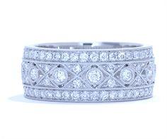 Diamond Wedding Bands, Right Hand Rings and Jewelry - Ascot Diamonds 5500