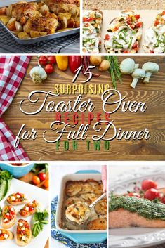 Want to make an excellent dinner for two using just your toaster oven? You'll be doing only these easy meals after you see these delicious . Read Surprising Toaster Oven Recipes for Full Dinner for Two Toaster Oven Cooking, Convection Oven Recipes, Toaster Oven Recipes, Toaster Ovens, Easy Oven Recipes, Easy Chicken Dinner Recipes, Easy Meals, Recipes Dinner, Delicious Recipes