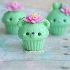Cactus Bear Cupcake