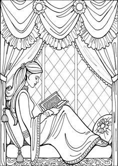 Princess Coloring pages ballerina Embroidery Pinterest