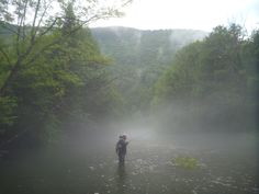Aguardando que levante la niebla tras una tormenta de verano.
