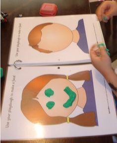 Material de Isaac para Educacion Especial: IDEAS PARA TRABAJAR CON FICHAS CON PLASTILINA