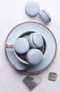 Image shared by ré❈. Find images and videos about macarons and tea on We Heart It - the app to get lost in what you love. Light Blue Aesthetic, Blue Aesthetic Pastel, Macarons, Pink Macaroons, Kreative Desserts, Aesthetic Food, Tea Party, Food Photography, Sweet Treats