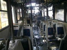 Autobus a fuoco a Santo Stefano di Magra. A bordo 80 studenti