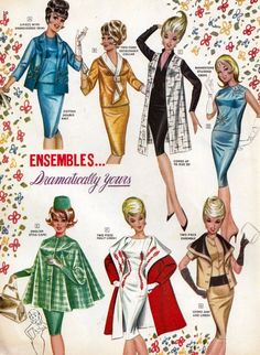 "Fredericks of Hollywood ""Dramatically Yours"" Ensembles - Vintage ad"