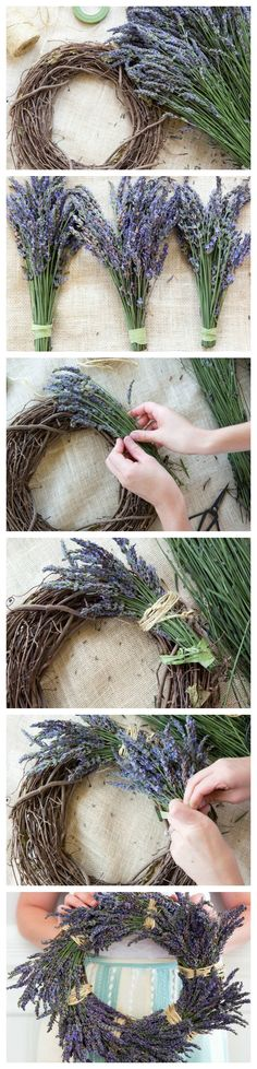 We love lavender! This easy project takes just 15 minutes, but the fragrant benefits last for weeks.