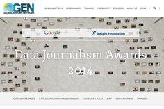 Big fat list of DDJ works nominated for the GEN Data Journalism Award 2014 Finals.