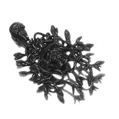 LOPEZ KENT Jewelry Mens Stainless Steel Necklace Gothic Retro Snake Silver Necklace Pendant