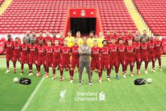 Liverpool FC and Barcelona FC record 1976 to Barcelona vs. Liverpool Player list, Champions League record 1976 to Liverpool Team, Liverpool England, Liverpool You'll Never Walk Alone, Squad Pictures, Juergen Klopp, Liverpool Fc Wallpaper, This Is Anfield, European Soccer, Steven Gerrard