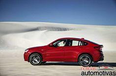 BMW X4 é revelado na Europa
